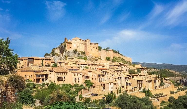 · Alquézar · Pasarelas de Alquézar · Ruta por el rio Vero · Huesca · Aragón ·