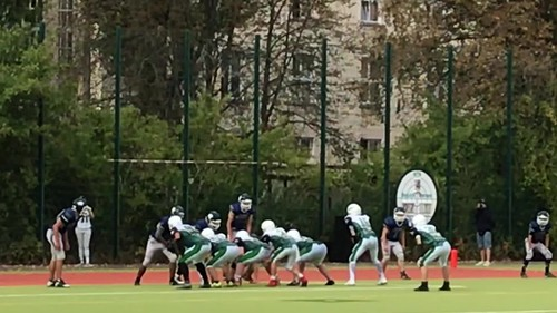 Bullets B-Jugend vs Thunderbirds 45 Touchdown Moritz