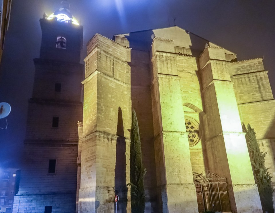 Ábside exterior Catedral de Nuestra Señora del Prado Ciudad Real