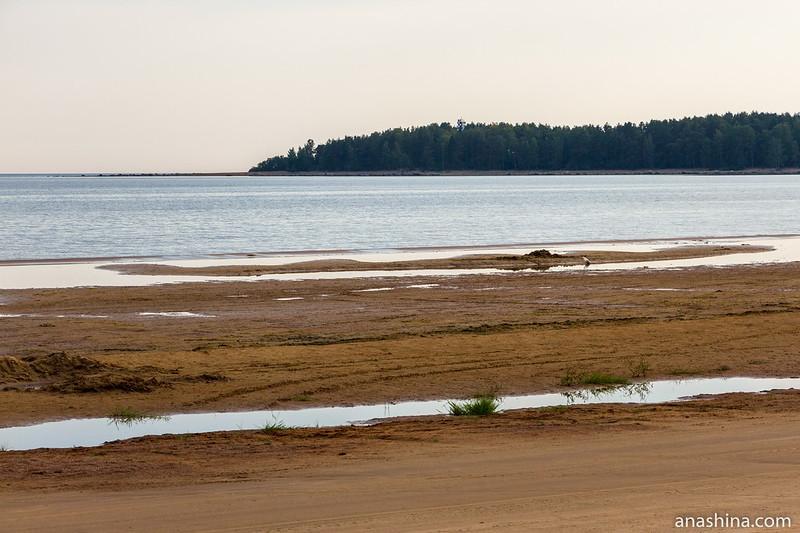 Мыс Кюрённиеми в Финском заливе Балтийского моря
