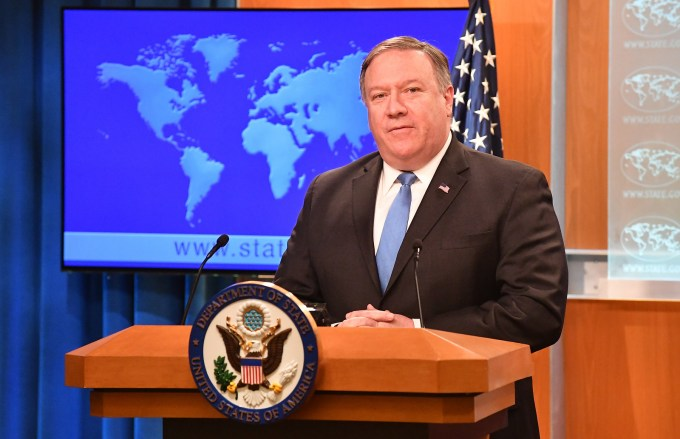 Speech of Secretary of State Michael R. Pompeo: The China ...