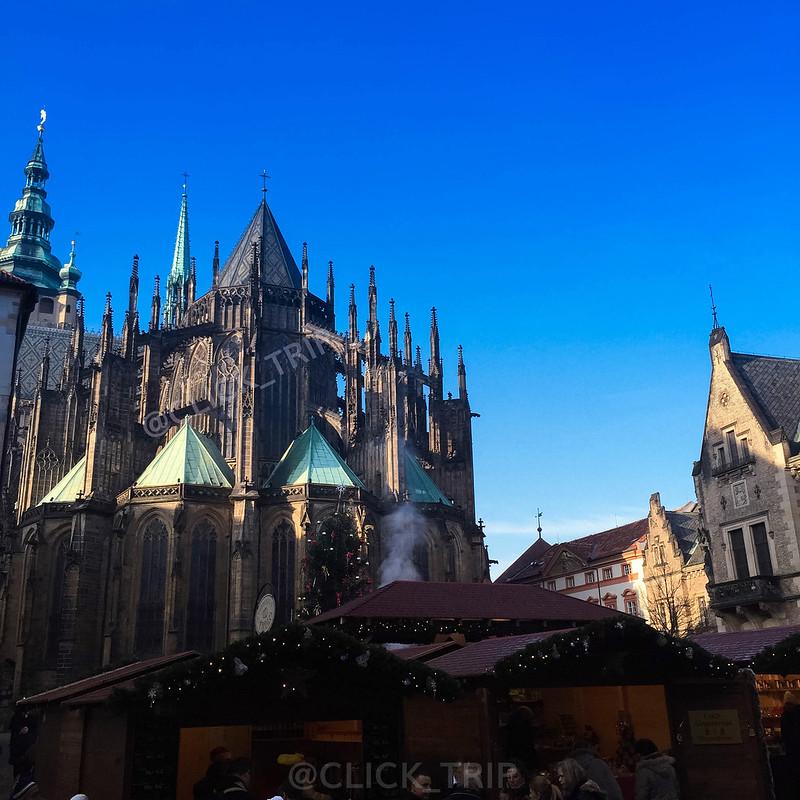 Mercadillo de Navidad en el Castillo de Praga | ClickTrip.ES