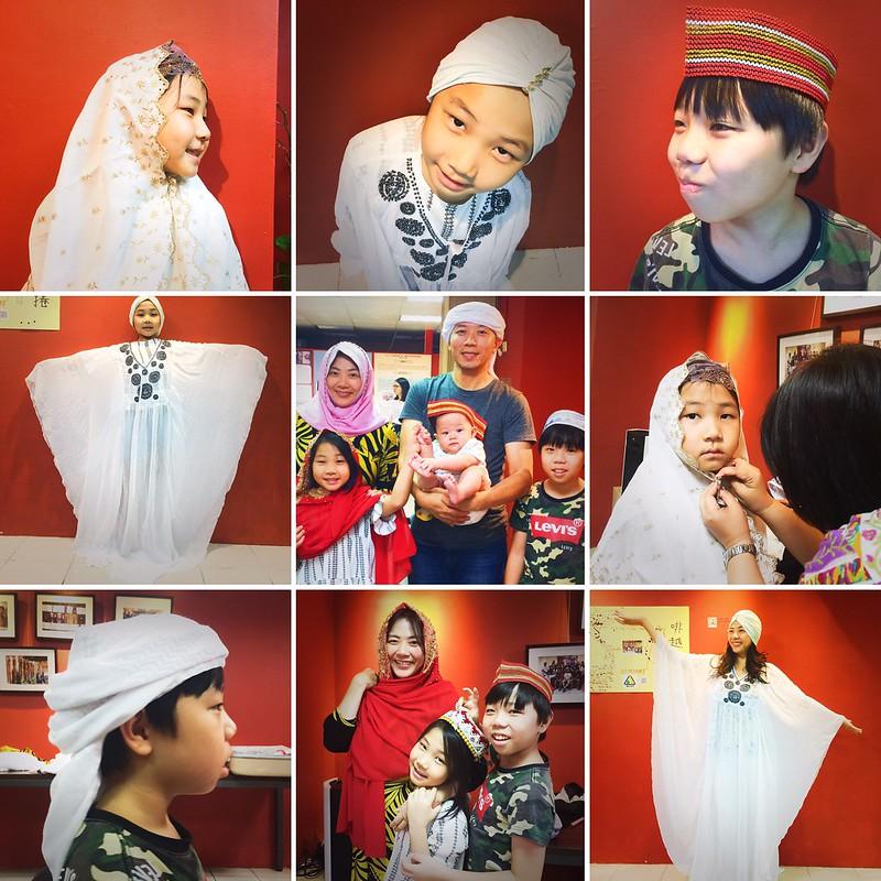 伊斯蘭教服裝體驗