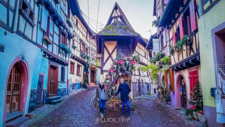 · Eguisheim, en nuestro paso por Alsacia en Navidad ·
