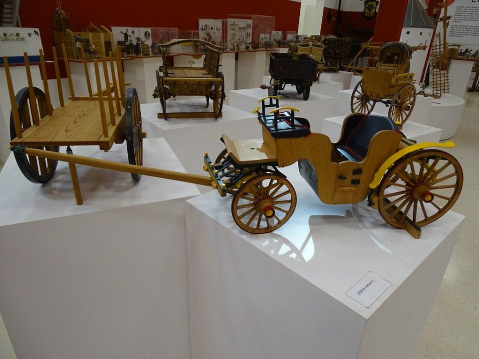 Coche andaluz carro Severiano Lucas Sala Almagre Museo Eloy Teno Campo de Criptana Ciudad Real