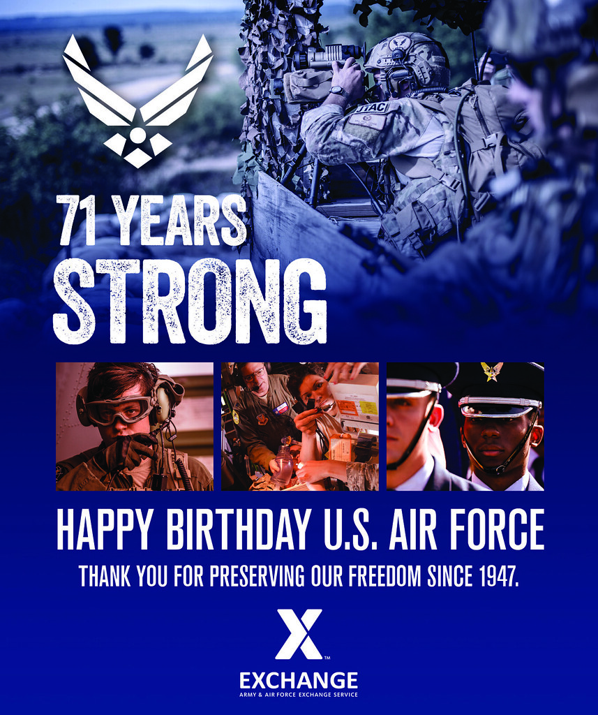 Happy Birthday Air Force The Army Air Force Exchange S Flickr