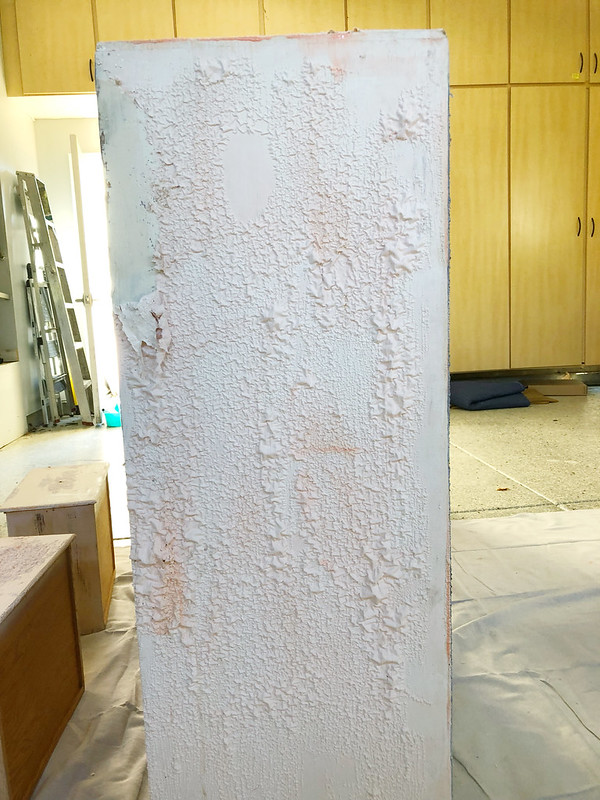 Closeups of the paint stripping in action!