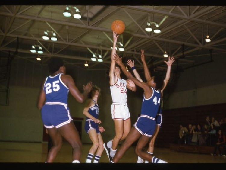 South 1975 era by Shane Gary Morton Basketball South