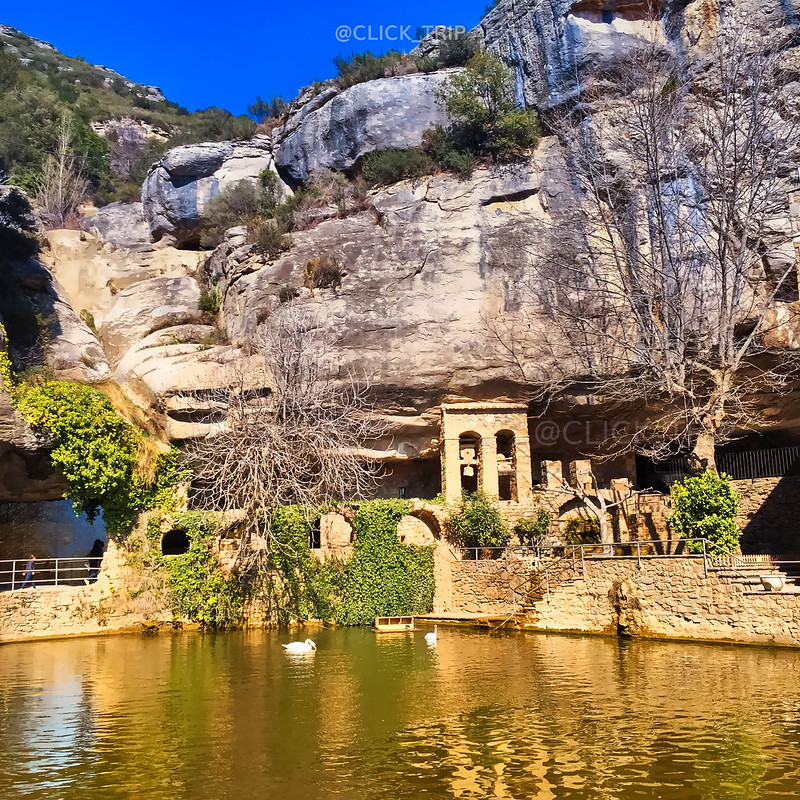 Plaza de la Abadia · Sant Miquel del Fai · Click_Trip ·