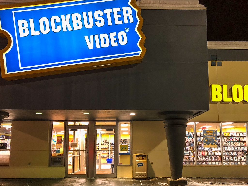 The Few That Remain An Open Blockbuster Video Store In Fa