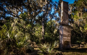 Remains of a Plantation Overseer's House