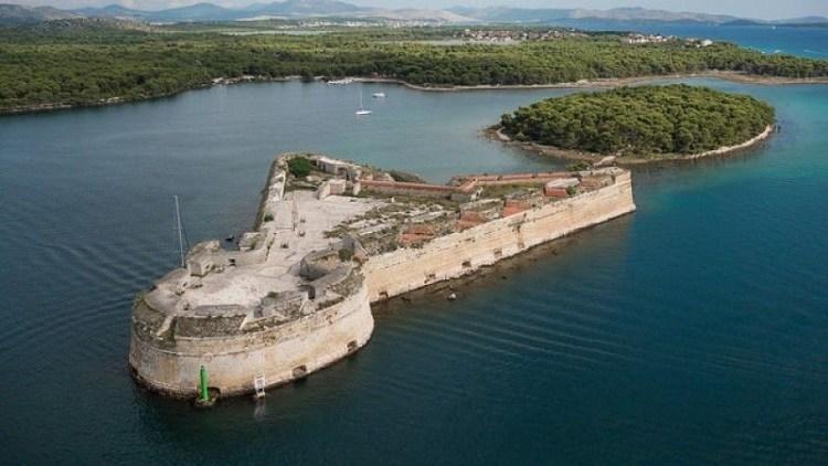 St. Nicholas Fortress, Šibenik, Croatia