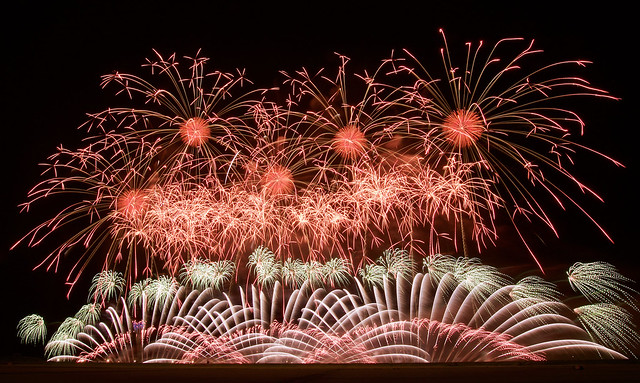 第28回赤川花火大会 The 28th Akagawa Fireworks Festival