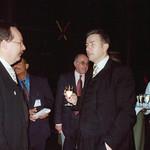 Michael Erlhoff, AlfredBiolek, OB Klaus Wowereit, Berlin, November 2001