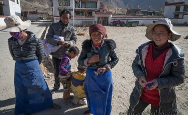 Villagers in Southern Tibet