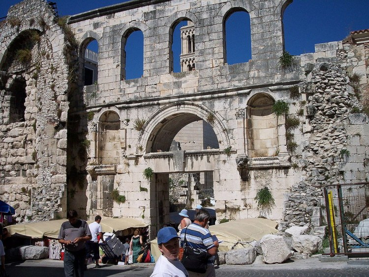 East Gate, Split, Croatia