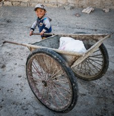 Boy with Cart