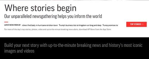 Purpose of Associated News Stories