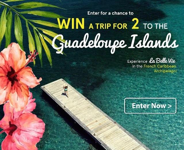 Win A Guadeloupe Islands Trip!
