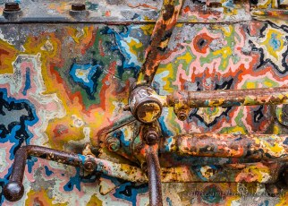 Painted Tractor