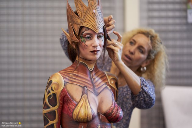 Romics2018_autunno_bodypaint_5
