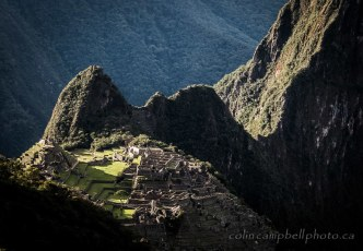 Machu Picchu in Late Afternoon