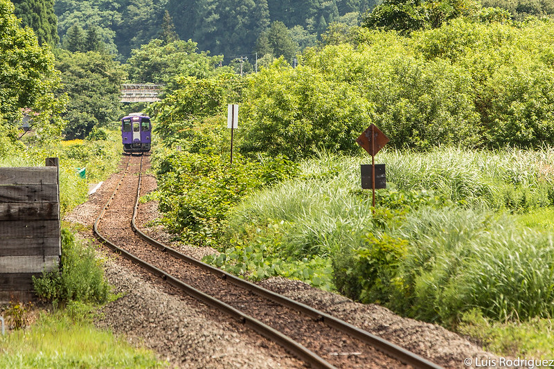 La línea Nairiku en Akita y su precioso recorrido