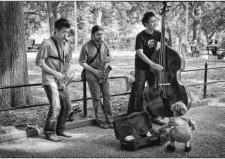 Jamming in Washington Square