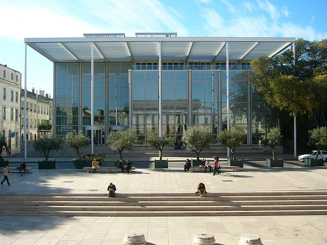 Norman Foster Carr 233 D Art Nimes 1993 Rory Hyde Flickr