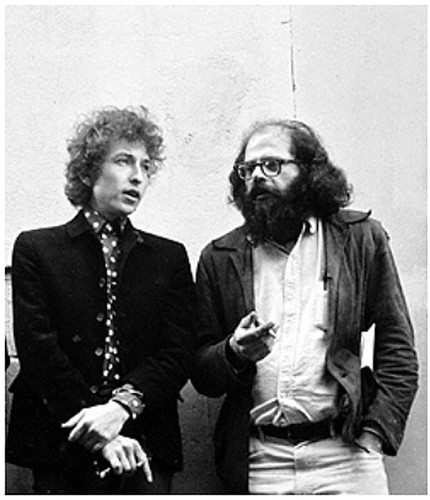 16l11 Bob Dylan y Allen Ginsberg, San Francisco, 1965 Foto Larry Keenan Uti 425