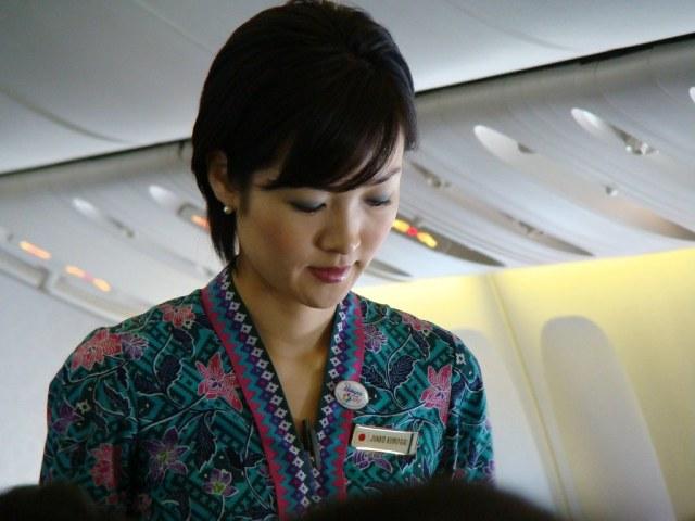mh stewardess (japanese) | japanese stewardess in malaysia a