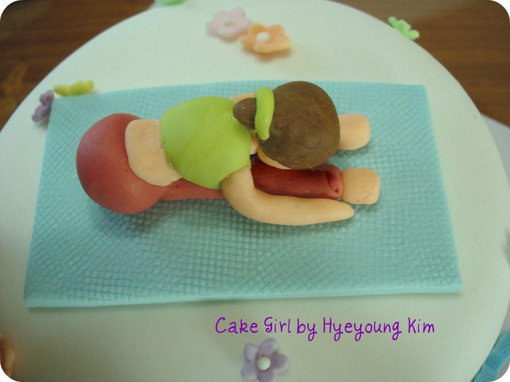 Birthday Cake For Yoga Teacher I Got Inspired By Mama Min Flickr