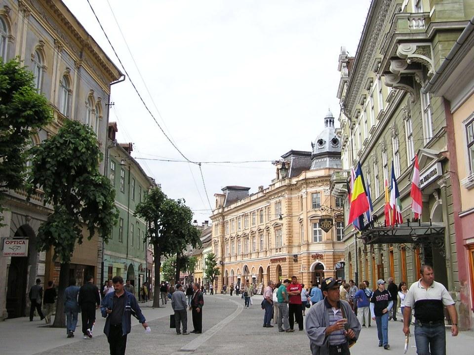 centro historico Sibiu Rumania 11