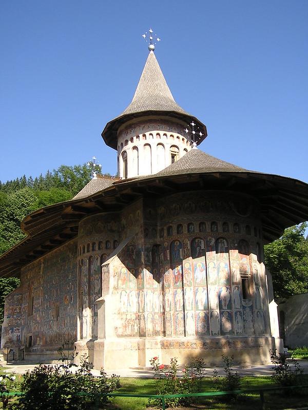 exterior Monasterio Voronet Moldavia Rumania 01