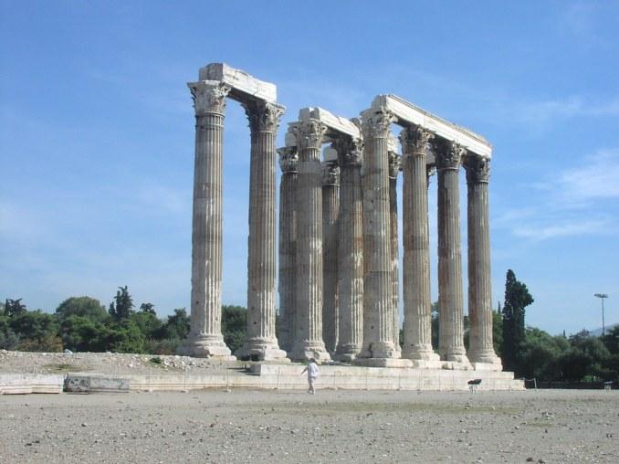 The Temple of Olympian Zeus
