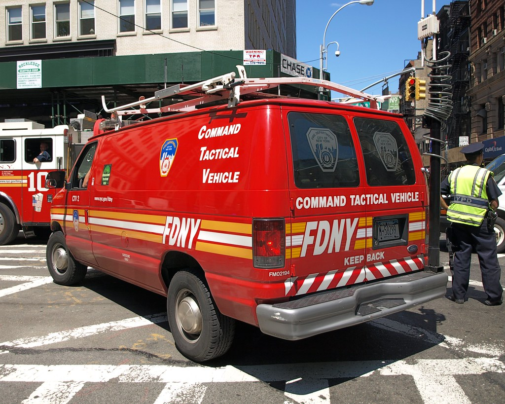Fdny Fire Command Tactical Vehicle City Hall Area New Yo