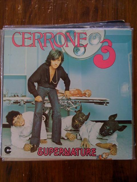 Cerrone 3 Supernature record cover