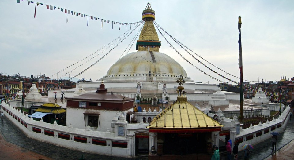 Nepal Estupa budista de Boudhanath 05