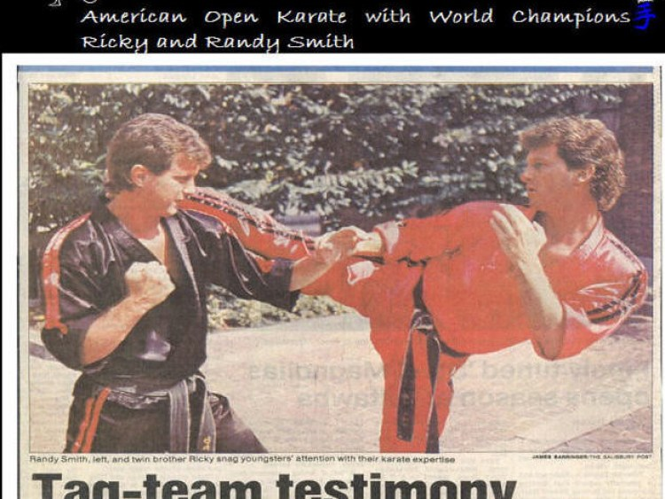 sidekickkarate.com  tag team testimony randy ricky gdt