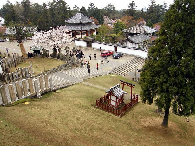 View from Nigatsu-dō