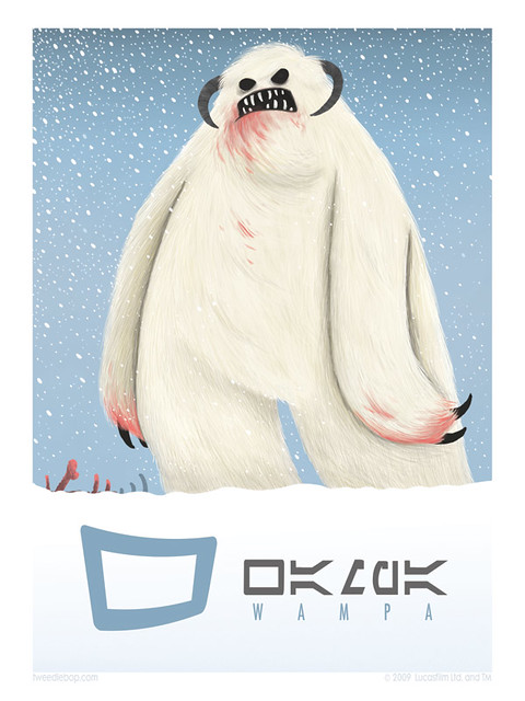 W is for Wampa
