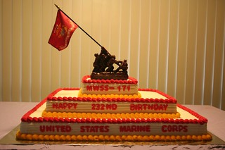 Marine Corps Birthday Cake Please Let Me Know What You Thi Flickr