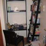 Crate Barrel Ladder Bookshelf Desk Leather Chair Flickr