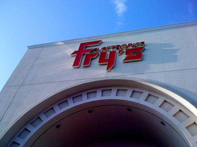 Fry's in Fremont