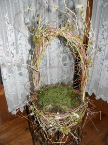 natural forest basket