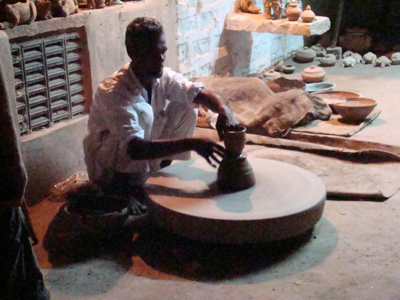 India Jodhpur taller de ceramica 08