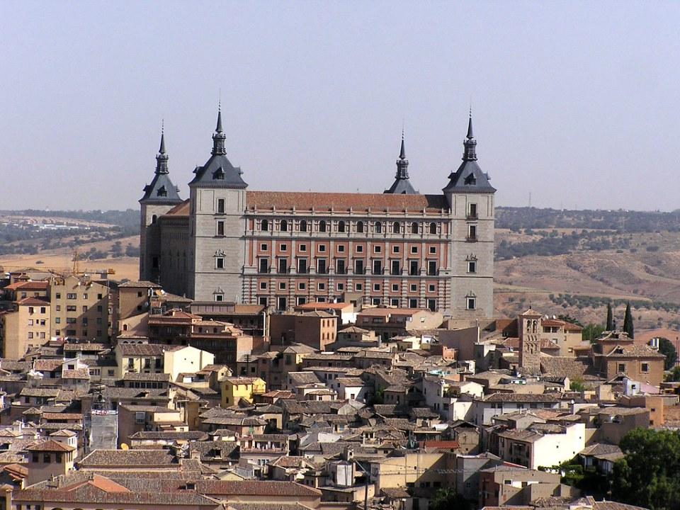 Vista del Alcazar de Toledo 05