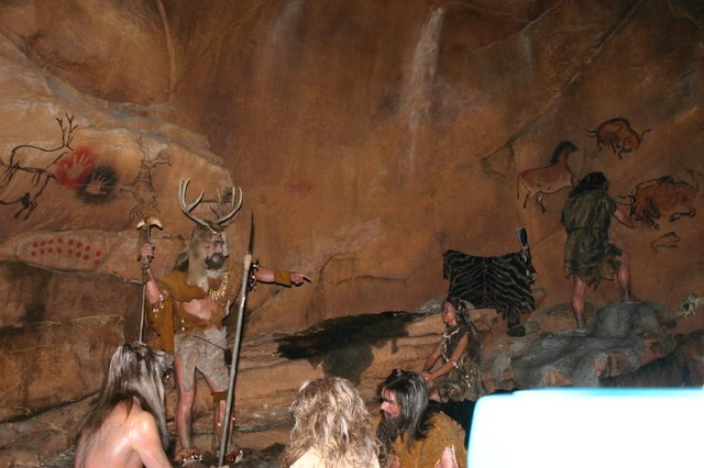 Spaceship Earth-Cave Painting
