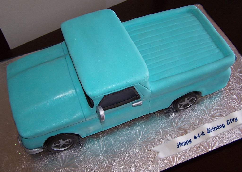1964 Chevy Pickup Truck This Is My First Car Truck Cake Flickr