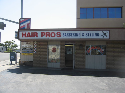 This is where I get my hair cut
